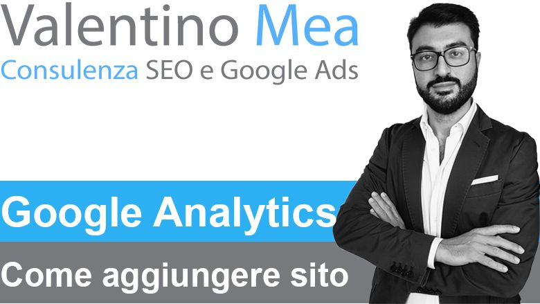 Aggiungere sito a Google Analytics